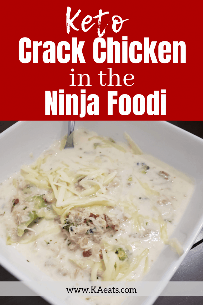KETO Ninja Foodi Crack Chicken #keto #dinner #recipes #easydinnerrecipes #ketorecipes #ninjafoodi #ninjafoodirecipes
