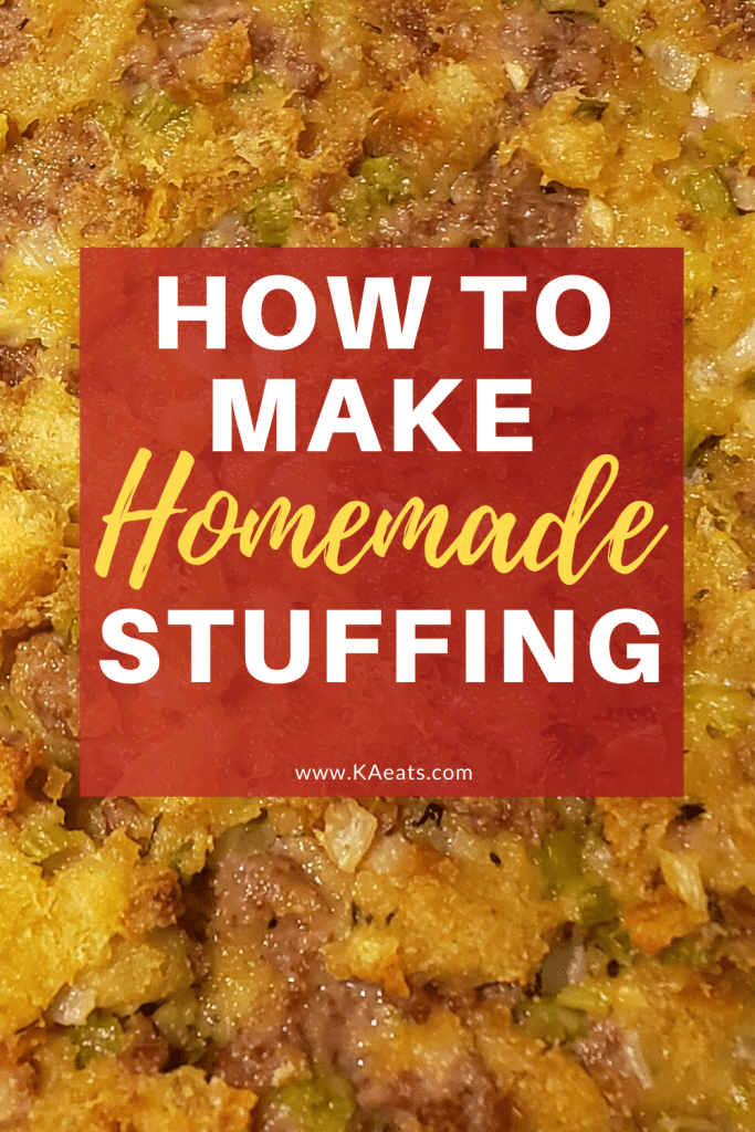 how to make homemade stuffing