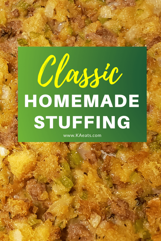 Classic homemade stuffing