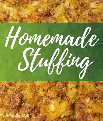 homemade stuffing recipe
