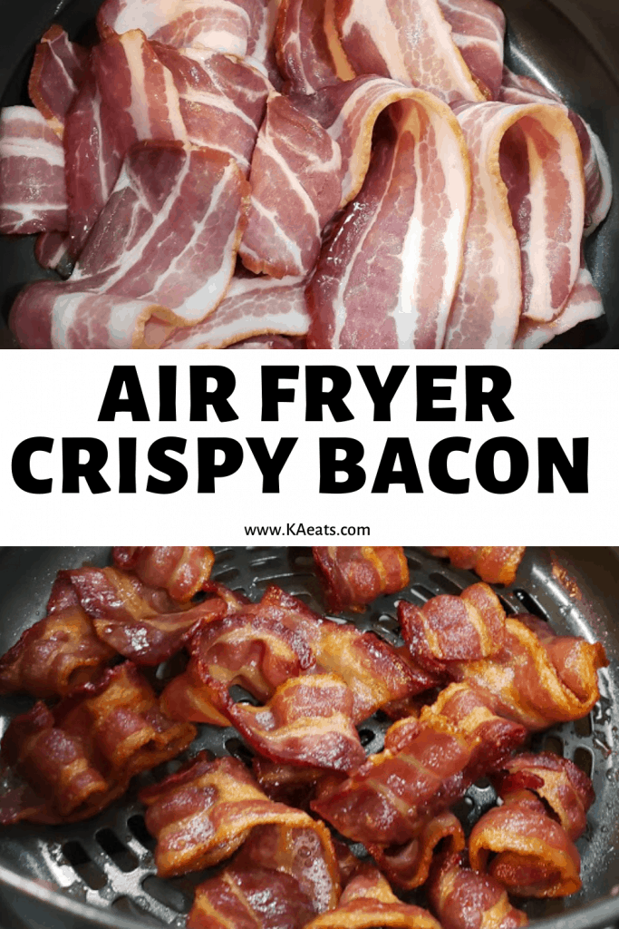 Air Fryer Crisp Bacon