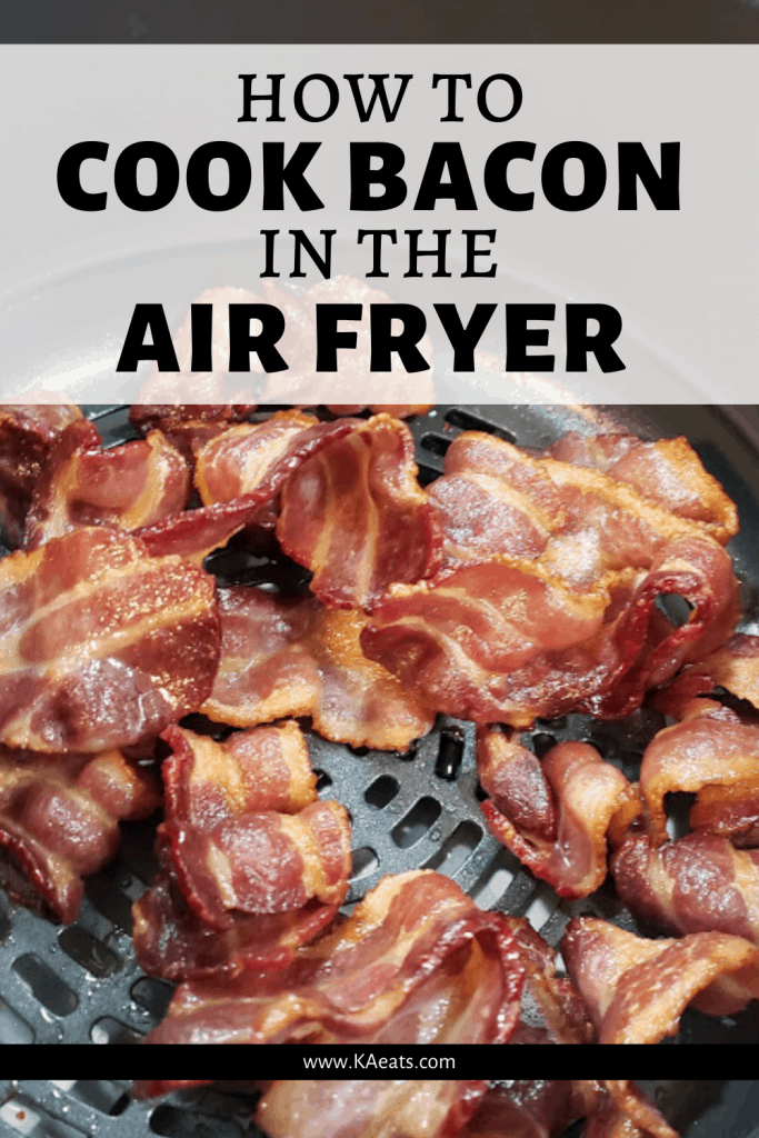 HOW TO COOK BACON IN THE AIR FRYER