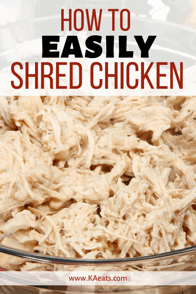 HOW TO EASILY SHRED CHICKEN
