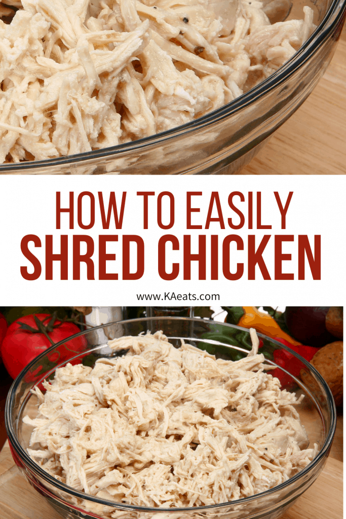 How to easily shred chicken in a kitchenaid mixer