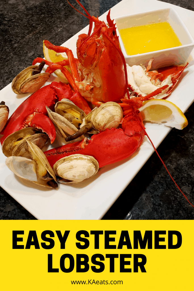 EASY STEAMED LOBSTER
