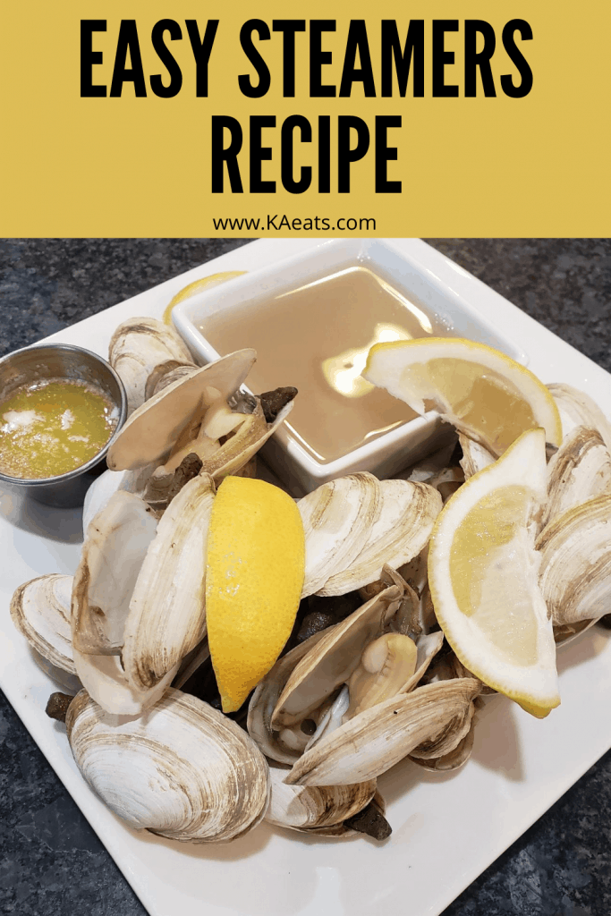 EASY STEAMERS RECIPE
