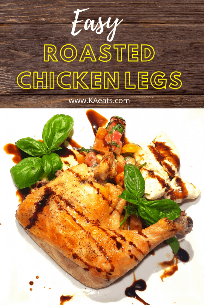 Easy Roasted Chicken Leg quarters Recipe