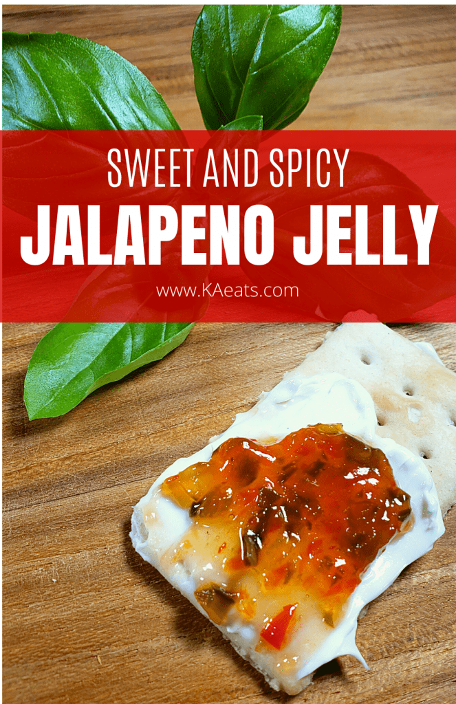 SWEET AND SPICY JALAPENO JELLY
