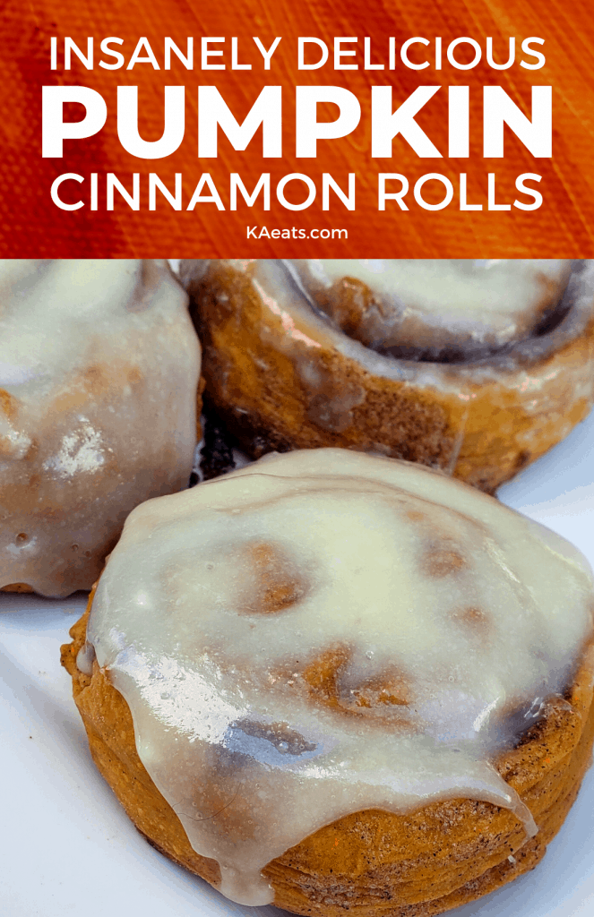 Insanely Delicious Pumpkin Cinnamon Rolls
