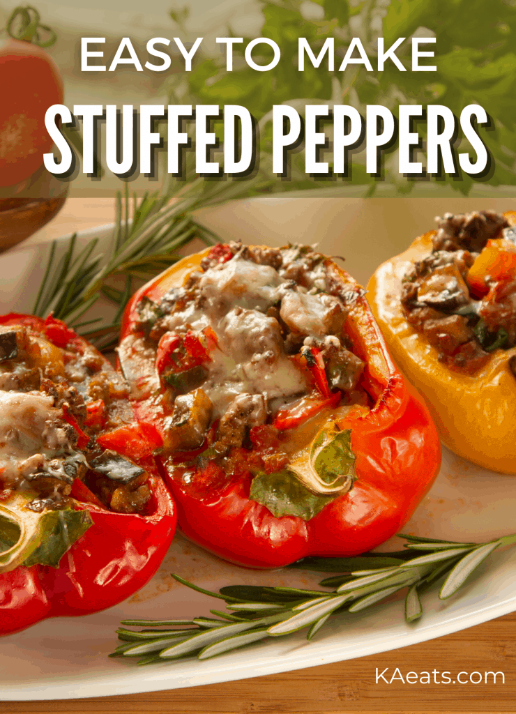 EASY TO MAKE STUFFED PEPPERS