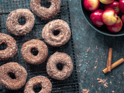Old-Fashioned Apple Cider Donuts Fall Dessert