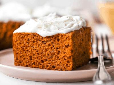 PUMPKIN CAKE  Fall Dessert