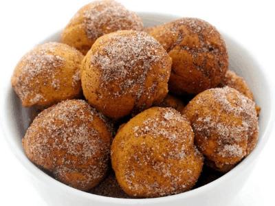 Pumpkin Donut Holes Fall Dessert