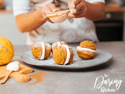 Pumpkin Whoopie Pies Fall Dessert